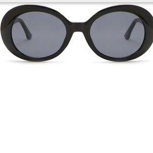 black sunglasses from Forever 21